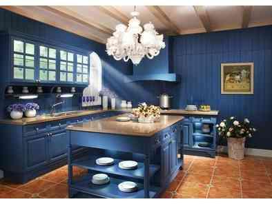三室两厅家装地中海风格厨房 (4)