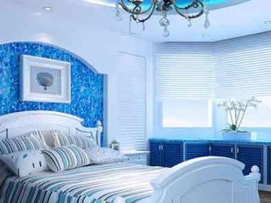 地中海风格卧室装修效果图 (7)
