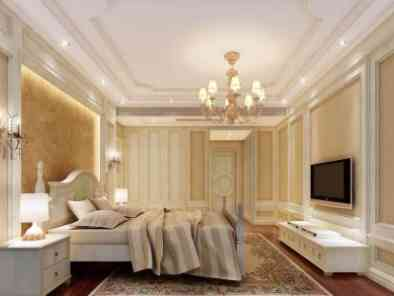 欧式风格卧室装修效果图(2) (5)