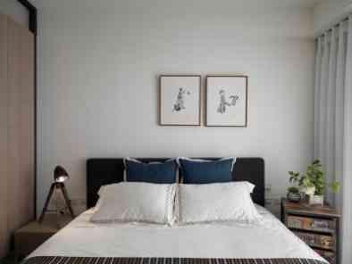 简约风格卧室装修效果图 (10)