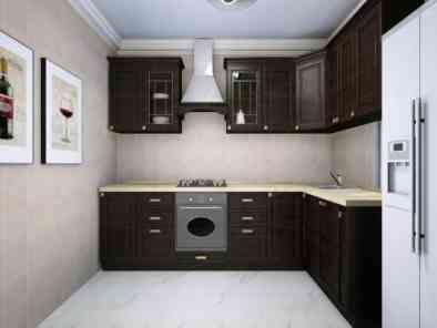 中式厨房装修效果图 (9)