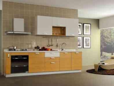 简约风格厨房装修效果图 (7)