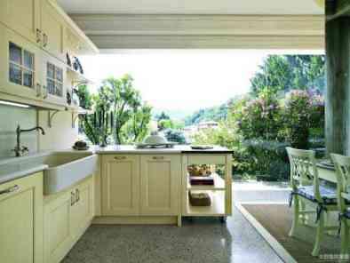 美式风格厨房装修效果图 (6)