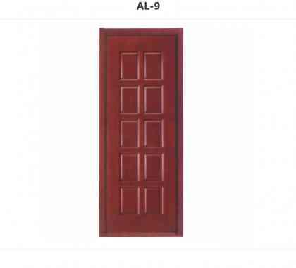 AL类:天然木皮套装门  AL-9
