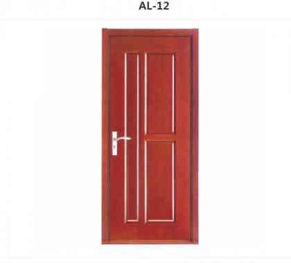 AL类:天然木皮套装门  AL-12